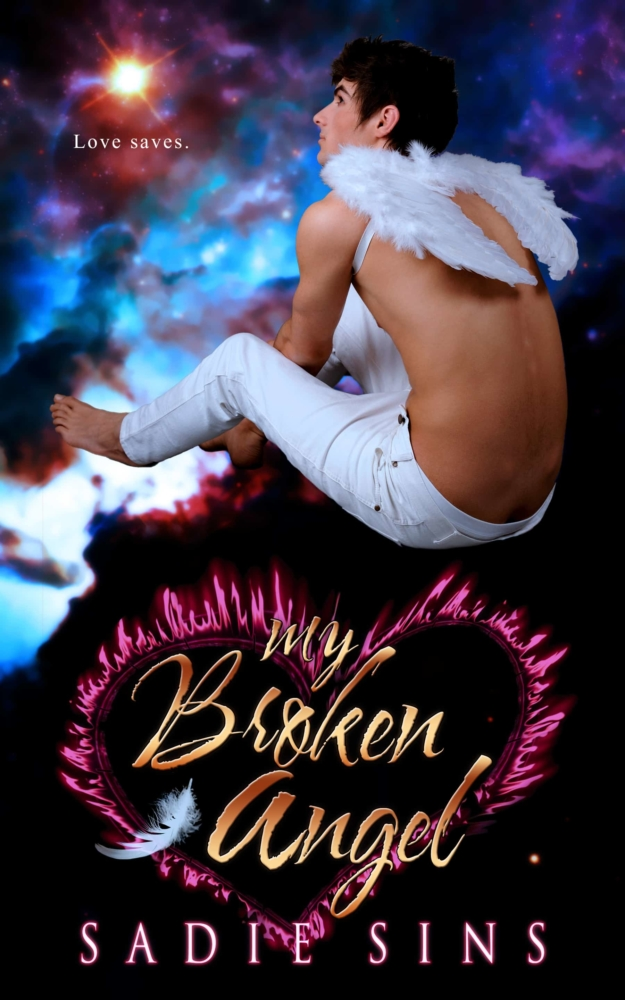 Wounded Hearts #2: My Broken Angel cover