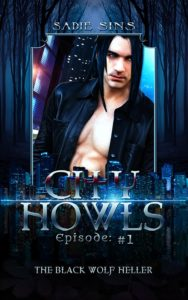 City Howls #1: The Black Wolf Heller cover