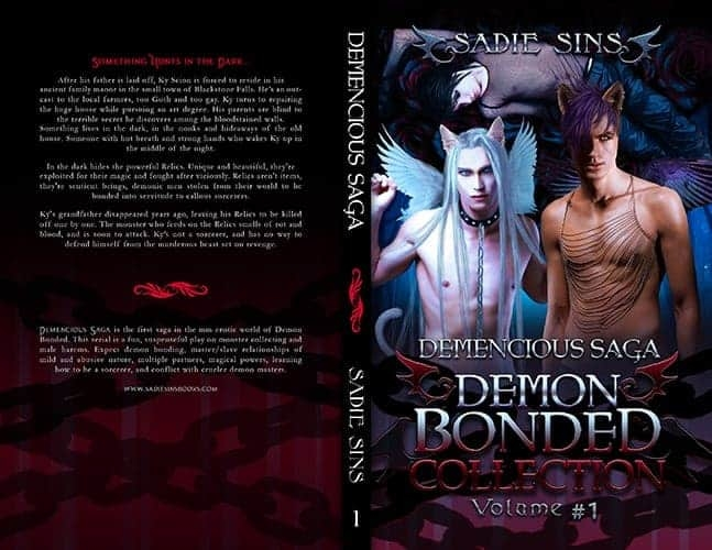 Demon Bonded Collection 1: Demencious Saga paperback cover