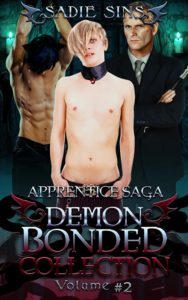Demon Bonded Collection 2: Apprentice Saga cover of Liem, Brave, and Tobias