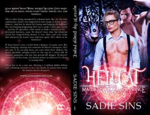 Hellcat #1: Mated To The Demon Prince Paperback cover