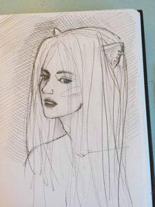 Lovely fanart by Nina
