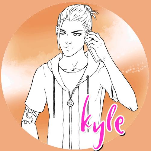 Blowjob King character: Kyle