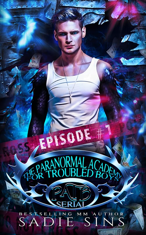 link to amazon to buy the ebook for the paranormal academy for troubled boys episode 1